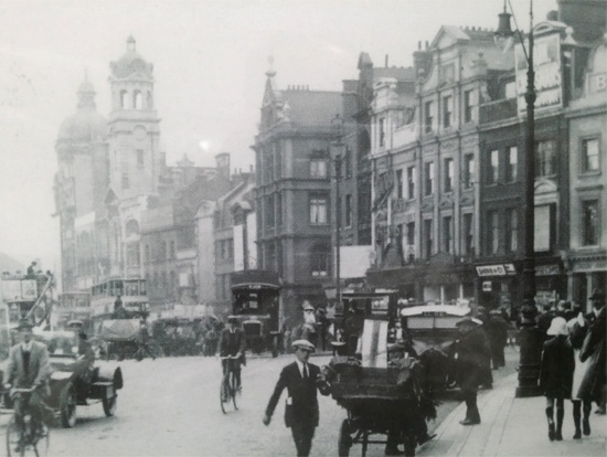Angel, Islington High Street 1920