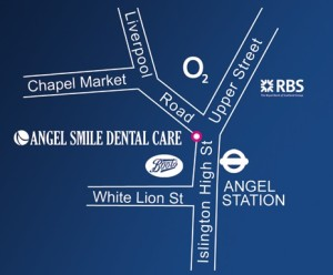 Angel Smile Dental MAP