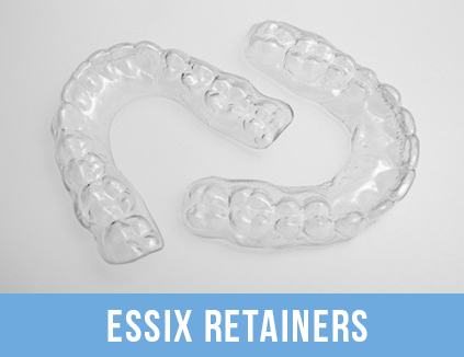 Essix retainers