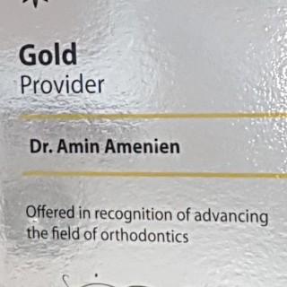 1 Dr Amin Amenien invisalign Gold provider 2017