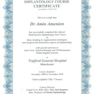 11 Dr Amin Amenien Multisystem implantology system 2010