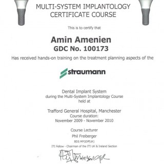 17 Dr Amin Amenien Strumann Dental implant system planning 2010
