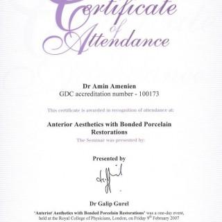 2 Dr Amin Amenien Anterion aesthetic 2007