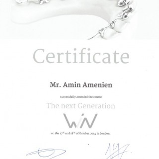 4 Dr Amin Amenien TWin lingual system lingual orthodontics 2015