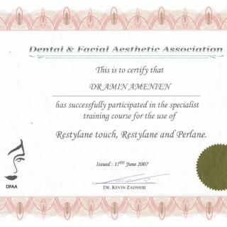 4 Dr Amin Amenien  dermal filler facial aesthetic 2007