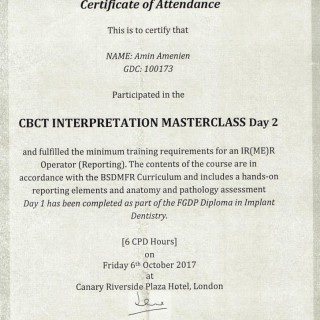 6 Dr Amin Amenien CBCT masterclass 2017