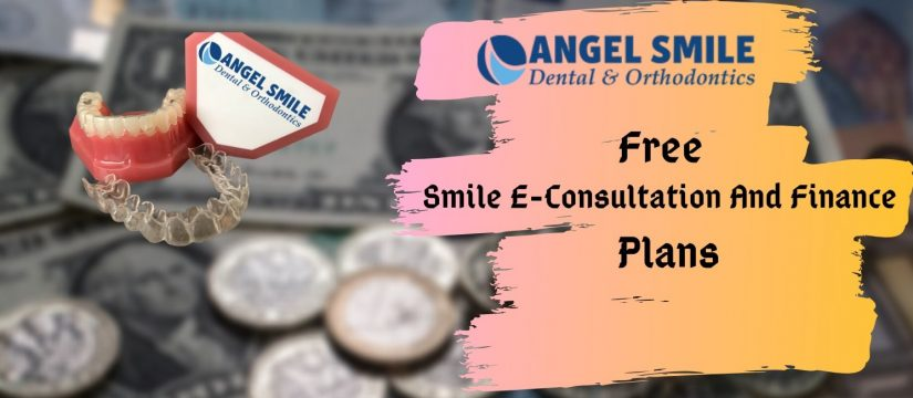 free smile E-consultation and finance plans