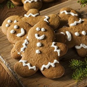 Sugar-free gingerbread men